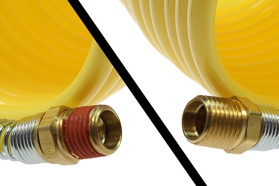 Nylon Coiled Air Line - Hoses - Air Tool Accessories
